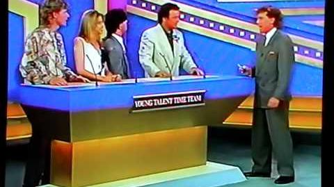 Young Talent Team on Celebrity Family Fued