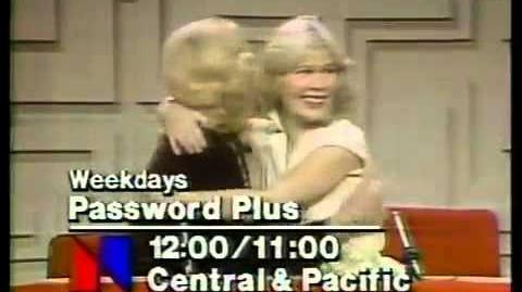 Password Plus promo, 1979