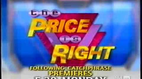 The Price Is Right Australia Series Return Promo (2003)
