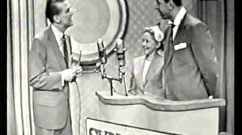 Beat The Clock CBS Primetime 1954 Bud Collyer Episode 1