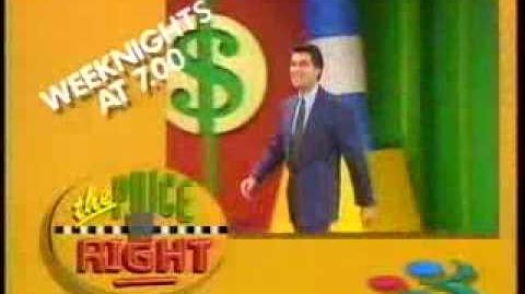 The Price Is right 1992 TV3 Promo
