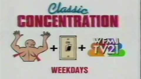 Classic Concentration promo, 1991