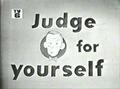 JudgeForYourself