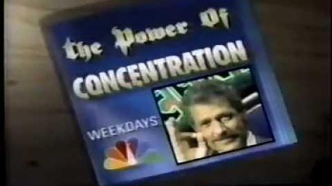 Classic Concentration promo 2, 1987