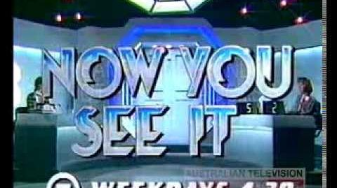 NOW YOU SEE IT - PROMO(Kids Game Show) (1985)