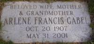 Arlene Francis Tombstone
