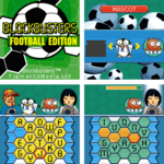 Bb football stripA