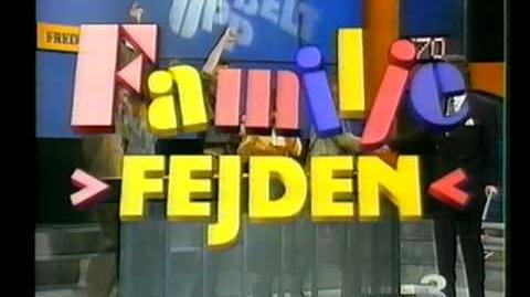 Familjefejden - Reklam omkring 1991