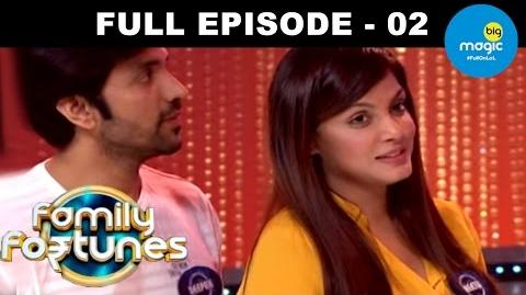 Family Fortunes Episode 02 27th October 2015
