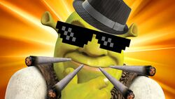 Blaze It Shrek