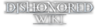 File:DishonoredWiki-wordmark.png