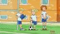 TD, Alice and Helen's Soccer Uniform