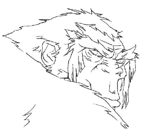 File:Martin Mystery - Pilot Episode - Concept Art (Character Design) by Nicolas Vergnaud - Gorilla.jpg