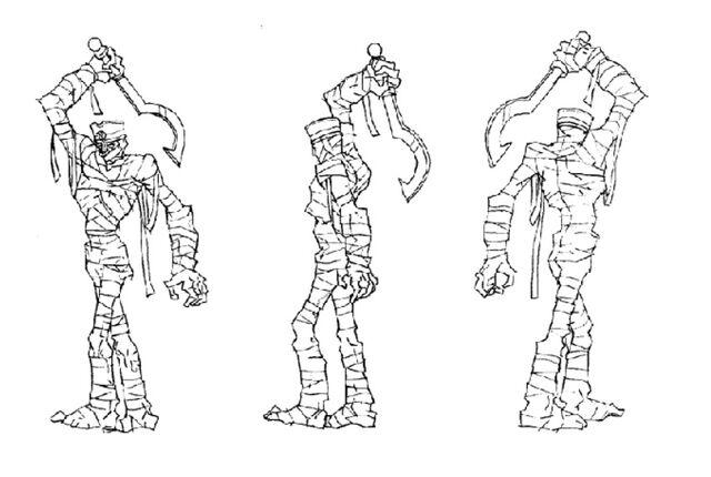 File:Martin Mystery - Pilot Episode - Concept Art (Character Design) by Nicolas Vergnaud - Pharaoh Mummy.jpg