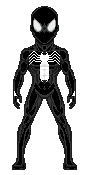 Black suit spiderman 01