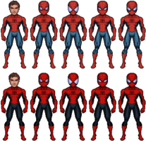 ABEL SpiderMan PeterParkerV2 1101