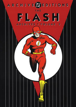 Cover for the The Flash Archives Vol. 3 Trade Paperback