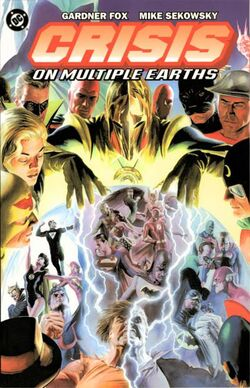 Cover for the Crisis on Multiple Earths Vol. 1 Trade Paperback
