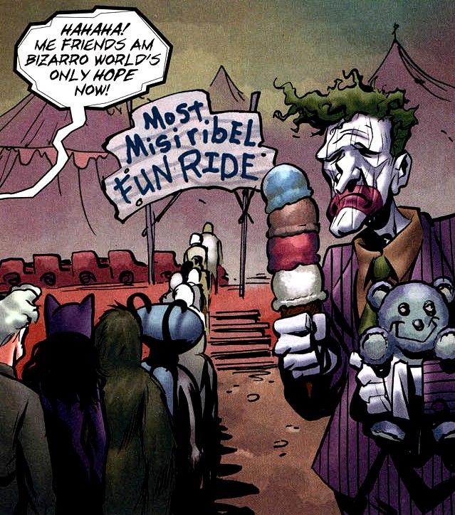 Bizarro Joker (New Earth) - DC Database - FANDOM powered by Wikia