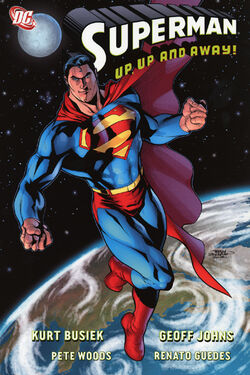 Cover for the Superman: Up, Up, and Away Trade Paperback
