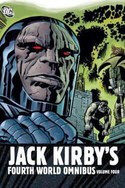 Cover for the Jack Kirby's Fourth World Omnibus Vol. 4 Trade Paperback