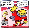 Etrigan Tiny Titans 001