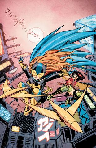 File:Ame-Comi Girls Featuring Batgirl Vol 1 2 Textless.jpg