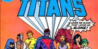 New Teen Titans Drug Awareness Special (IBM)