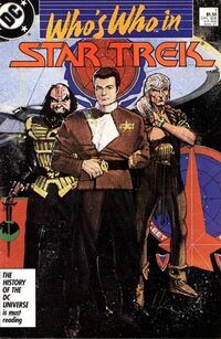 Who's Who in Star Trek Vol 1 1