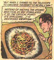 Krypton Exploding (Earth-One) Ellison