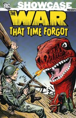 Cover for the Showcase Presents: The War That Time Forgot Vol. 1 Trade Paperback