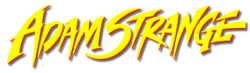 Adam Strange (1990) logo