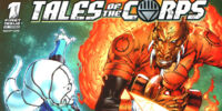 Blackest Night: Tales of the Corps Vol 1
