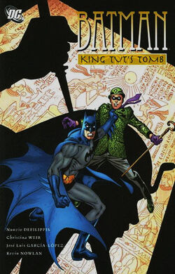 Cover for the Batman: King Tut's Tomb Trade Paperback