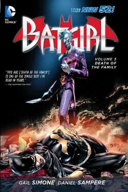 Cover for the Batgirl: Death of the Family Trade Paperback