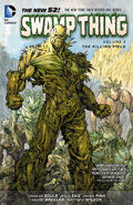 Swamp Thing The Killing Field TPB