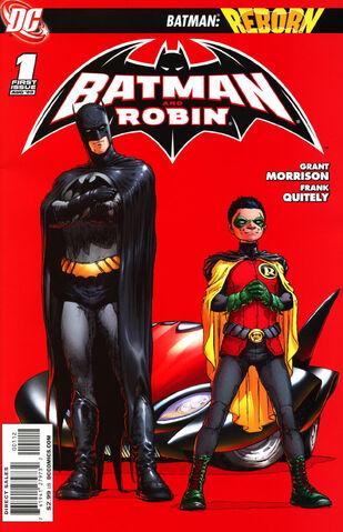 File:Batman and Robin Vol 1 1 2nd Printing.jpg