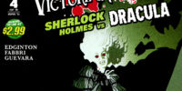 Victorian Undead: Sherlock Holmes vs. Dracula Vol 1 4