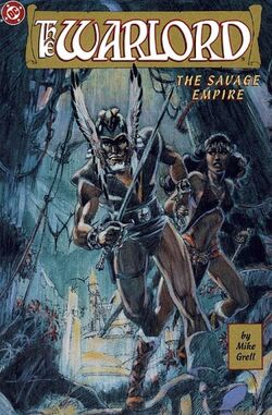 Cover for the Warlord: Savage Empire Trade Paperback