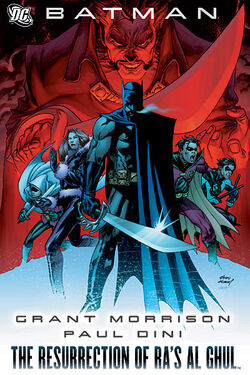 Cover for the Batman: The Resurrection of Ra's al Ghul Trade Paperback