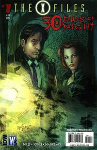 X-Files - 30 Days of Night Vol 1 1