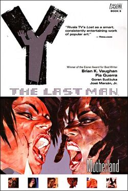 Cover for the Y: The Last Man: Motherland Trade Paperback