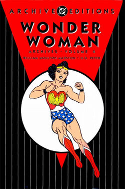 Cover for the Wonder Woman Archives Vol. 4 Trade Paperback