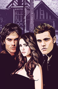 Vampire Diaries Vol 1 1 Textless
