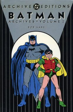 Cover for the Batman Archives Vol 2 Trade Paperback