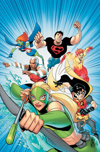 File:Young Justice Vol 2 0 textless.jpg