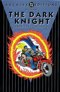 Cover for the Batman: The Dark Knight Archives Vol 6 Trade Paperback