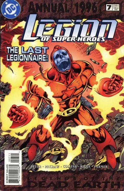 legion of superheroes annual vol 4 7 dc database