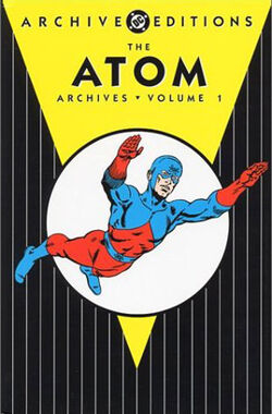Cover for the The Atom Archives Vol. 1 Trade Paperback