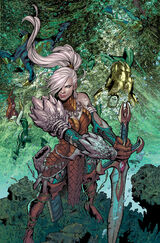 Aquaman and Mera are defeated by Atlanna